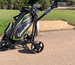2 x Flat CAT Touch Golftrolley