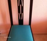 6 schwarze Stühle (Holz)